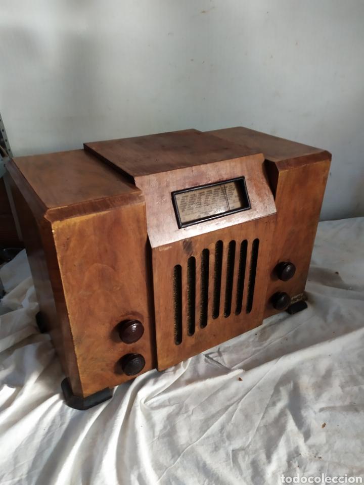 Radios de válvulas: Espectacular radio antigua de válvulas muy rara - Foto 2 - 276151428