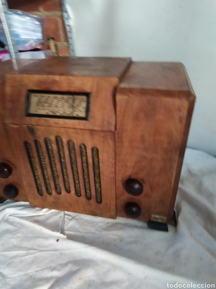 Radios de válvulas: Espectacular radio antigua de válvulas muy rara - Foto 3 - 276151428