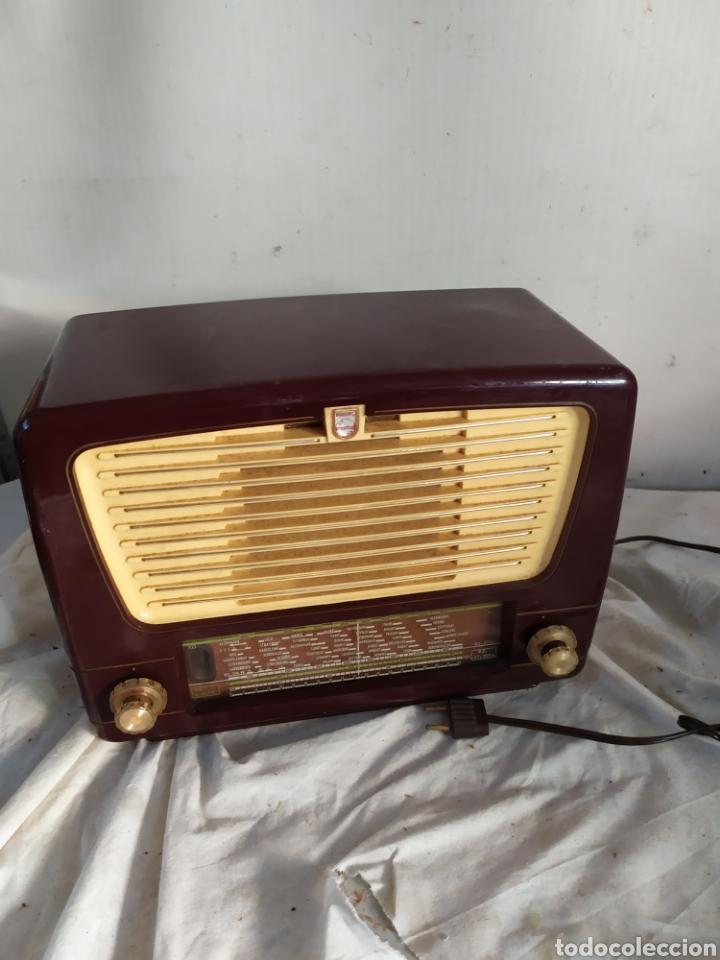ANTIGUA RADIO DE VÁLVULAS PHILIPS (Radios, Gramófonos, Grabadoras y Otros - Radios de Válvulas)