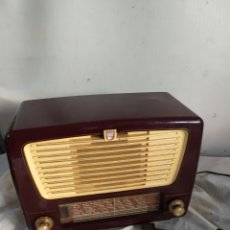 Radios de válvulas: ANTIGUA RADIO DE VÁLVULAS PHILIPS. Lote 276151588