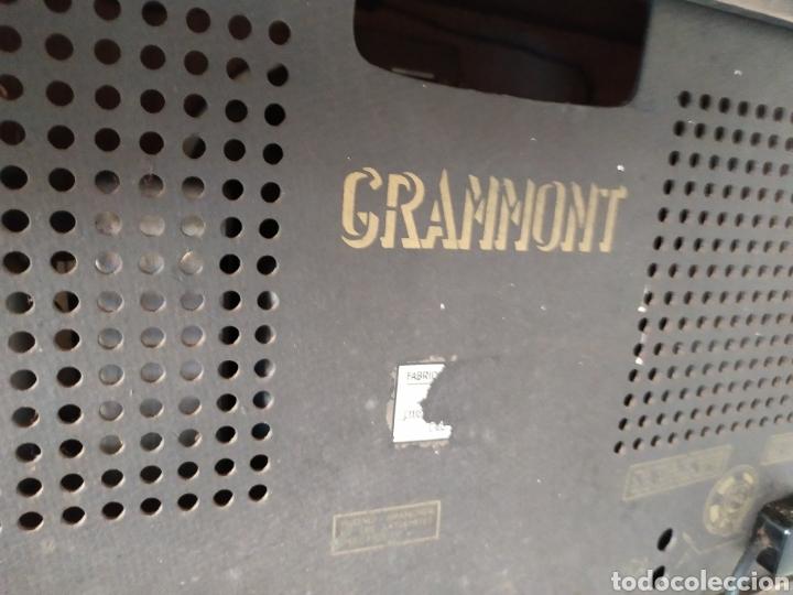 Radios de válvulas: Impresionante radio antigua de válvulas grammont - Foto 2 - 276152163