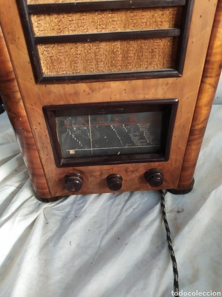 Radios de válvulas: Antigua radio de catedral de válvulas años 20 - Foto 2 - 276152618