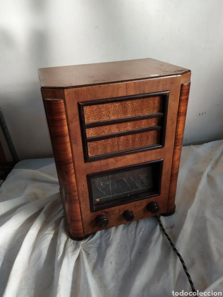 Radios de válvulas: Antigua radio de catedral de válvulas años 20 - Foto 3 - 276152618