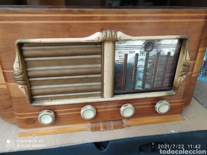 Radios de válvulas: Preciosa radio antigua - Foto 2 - 276795233