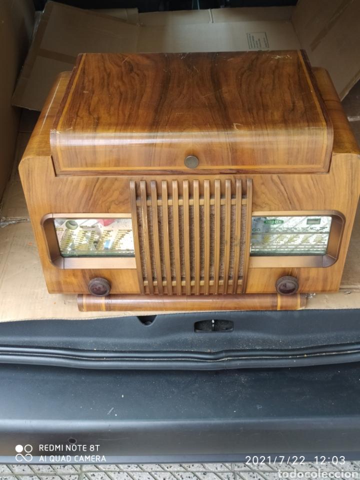 Radios de válvulas: Espectacular radio antigua - Foto 2 - 276799233
