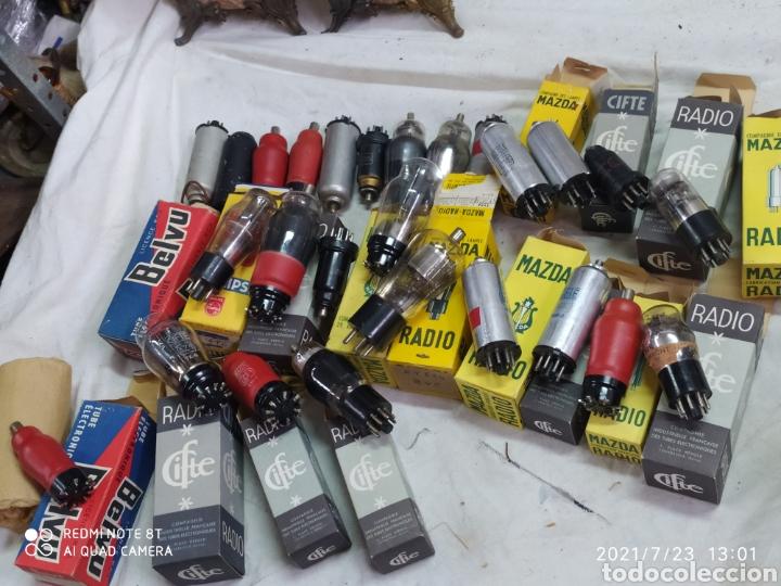 Radios de válvulas: Lotazo de 370 válvulas de radios antiguas - Foto 7 - 276799898