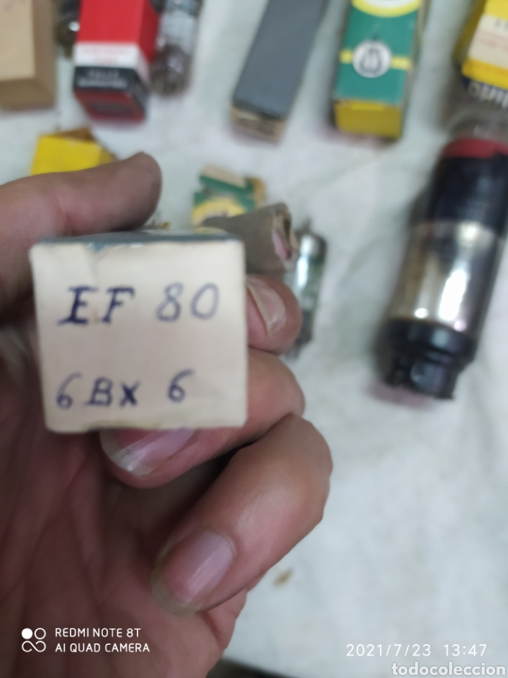 Radios de válvulas: Lotazo de 370 válvulas de radios antiguas - Foto 33 - 276799898