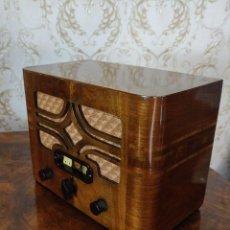 Radios de válvulas: RADIO ANTIGUA DE MADERA PHILIPS AÑOS 20 30 CASI A ESTRENAR RARISIMA UNICA!!!. Lote 277044523