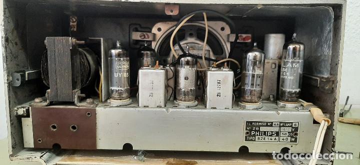 Radios de válvulas: RADIO A VALVULAS PHILIPS B2E14A - Foto 4 - 277289373