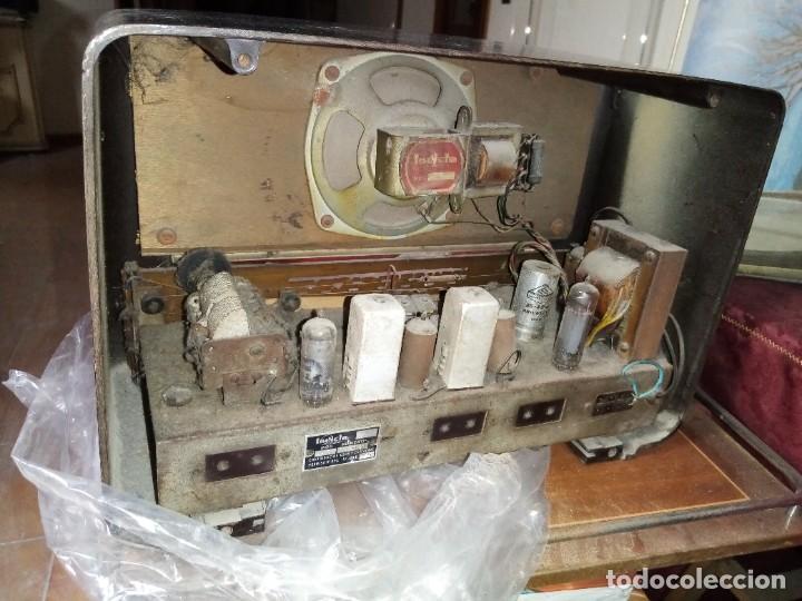 Radios de válvulas: radio antigua no provada marca invicta - Foto 4 - 224951530