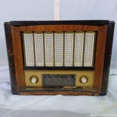 Radios de válvulas: ANTIGUA RADIO MARCONI R - 10 GRAN TAMAÑO AÑOS 40. Lote 278413443
