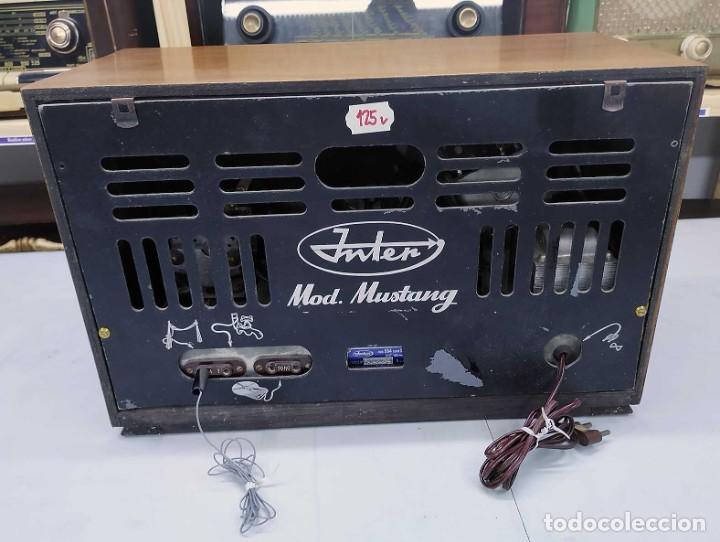 Radios de válvulas: ANTIGUA RADIO. FUNCIONANDO. 125 V. SE PUEDE RECOGER EN EL ANTIGUO MUSEO DE LA RADIO. BURGOS. - Foto 5 - 285116393