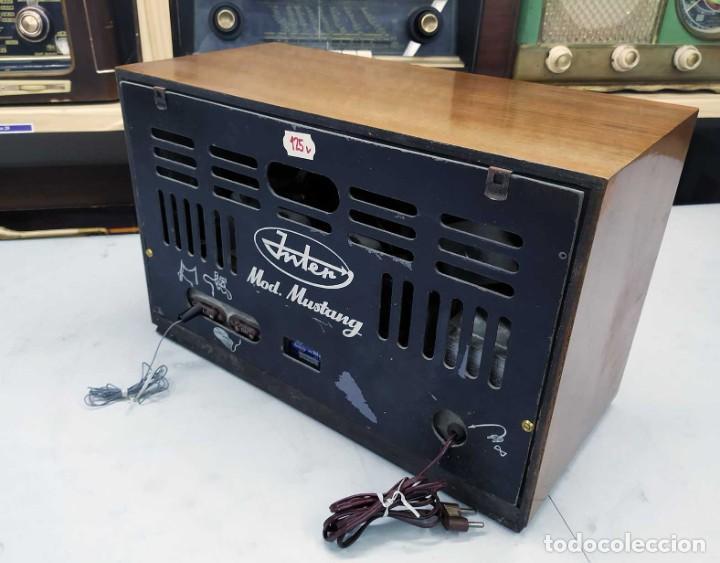 Radios de válvulas: ANTIGUA RADIO. FUNCIONANDO. 125 V. SE PUEDE RECOGER EN EL ANTIGUO MUSEO DE LA RADIO. BURGOS. - Foto 7 - 285116393