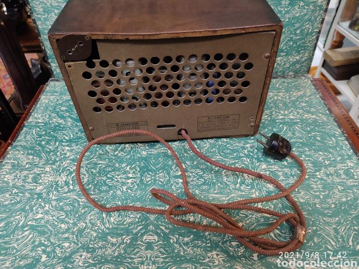 Radios de válvulas: Radio Marconi model 443 - Foto 5 - 286509078