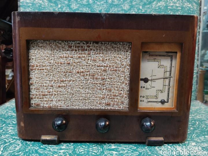 RADIO MARCONI MODEL 443 (Radios, Gramófonos, Grabadoras y Otros - Radios de Válvulas)