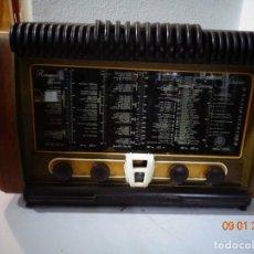 Radio a valvole: MUY ANTIGUO RADIO VALBULAS SEHNEIDER FRERES COMPLETO, BUEN ESTADO FUNCIONANDO PERFECTO A 220 V. Lote 286939103