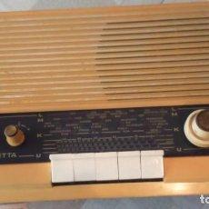 Radios à lampes: BONITO RADIO ALEMÁN PHILIPS. MOD RB 273 AÑO 1967/68 FUNCIONA.!!!. Lote 287212613