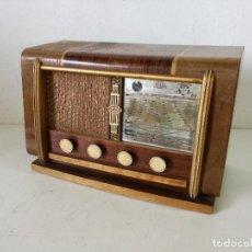 Radios à lampes: TECNOLOGÍA VINTAGE, RADIO DE VÁLVULAS, JEUNE, RIA, FUNCIONANDO, A REVISAR, VÍDEO, 46 X 30 X 22. Lote 287266528