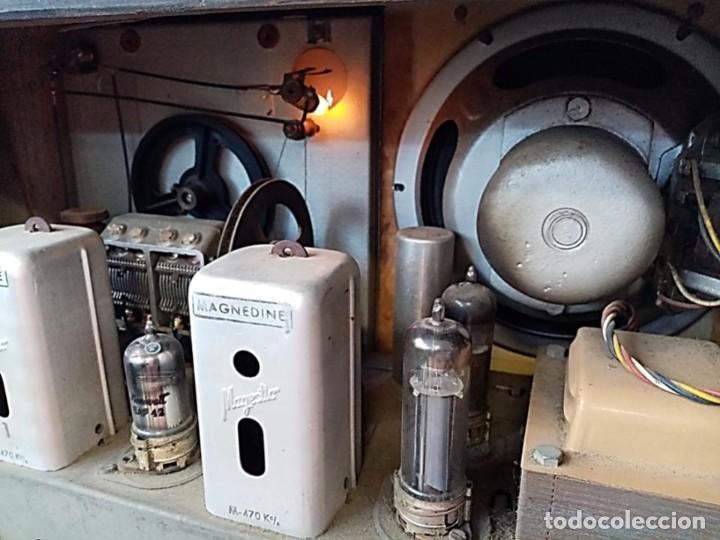 Radios de válvulas: RADIO MAGESTIC MODELO COPPELIA AÑOS 40 - Foto 5 - 287546143