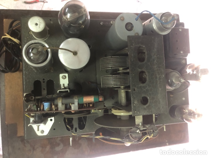 Radios de válvulas: RADIO DE CAPILLA ANTIGUO DE PIE. - Foto 5 - 287607313