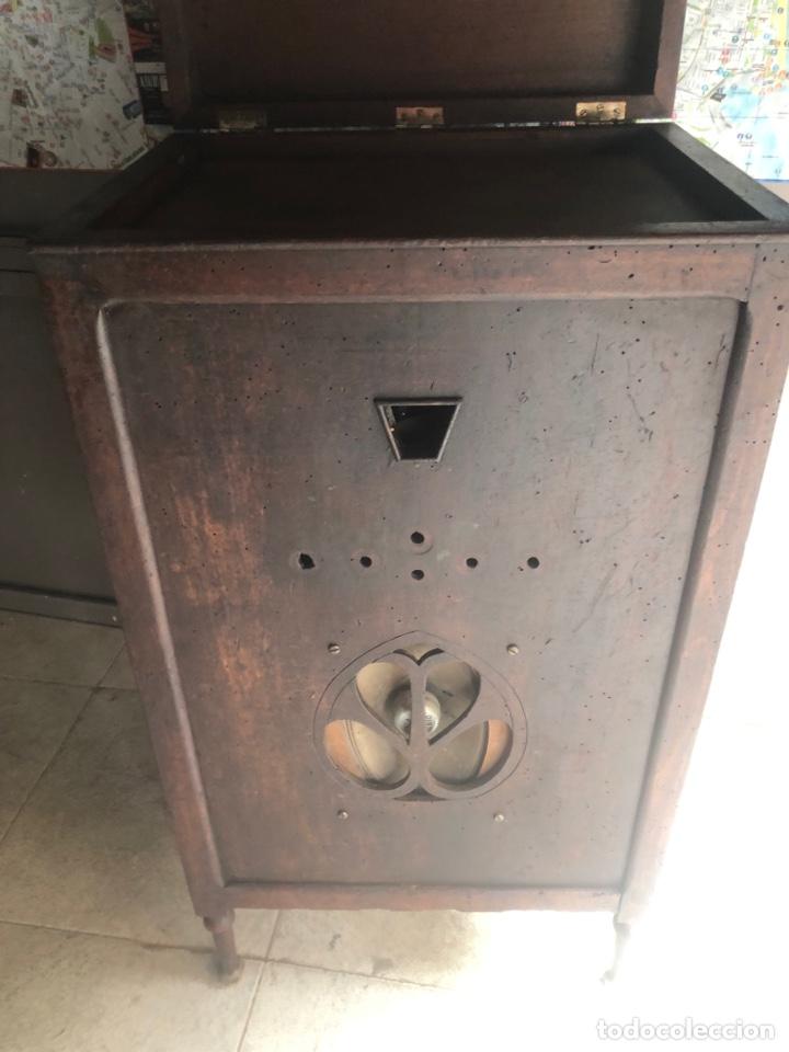 Radios de válvulas: RADIO DE CAPILLA ANTIGUO DE PIE. - Foto 15 - 287607313