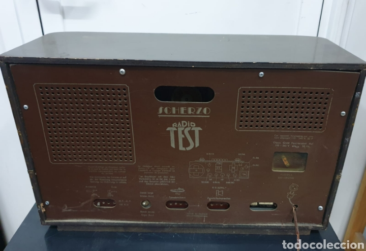 Radios de válvulas: Radio Test, Scherzo - Foto 6 - 287709003
