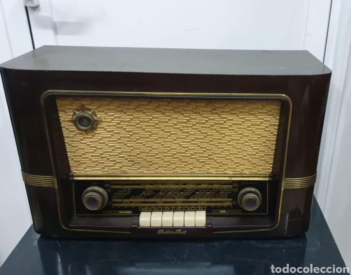 RADIO TEST, SCHERZO (Radios, Gramófonos, Grabadoras y Otros - Radios de Válvulas)