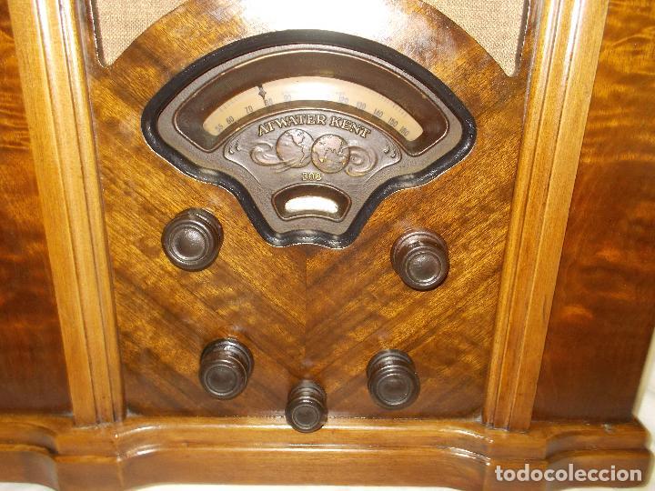 Radios de válvulas: radio atwater kent - Foto 7 - 287779373