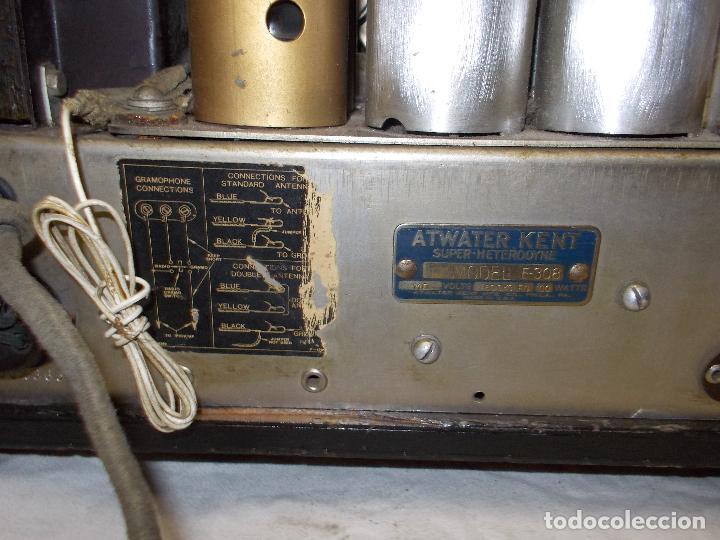 Radios de válvulas: radio atwater kent - Foto 16 - 287779373