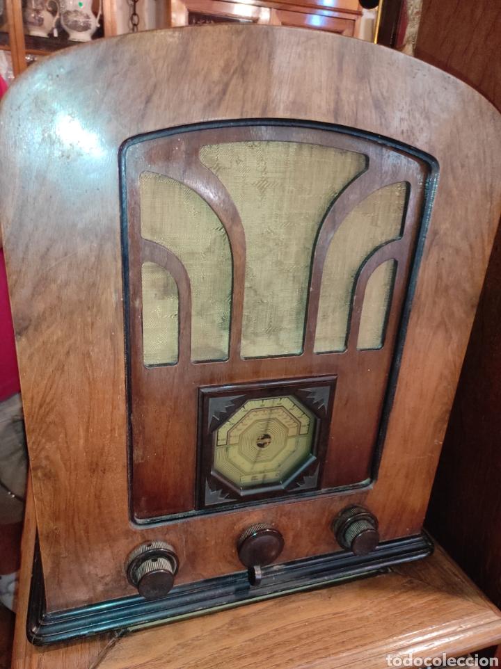 Radios de válvulas: Antigua Radio de Válvulas Philips 534 A - Tipo Capilla - Leer Descripción - - Foto 3 - 287838788