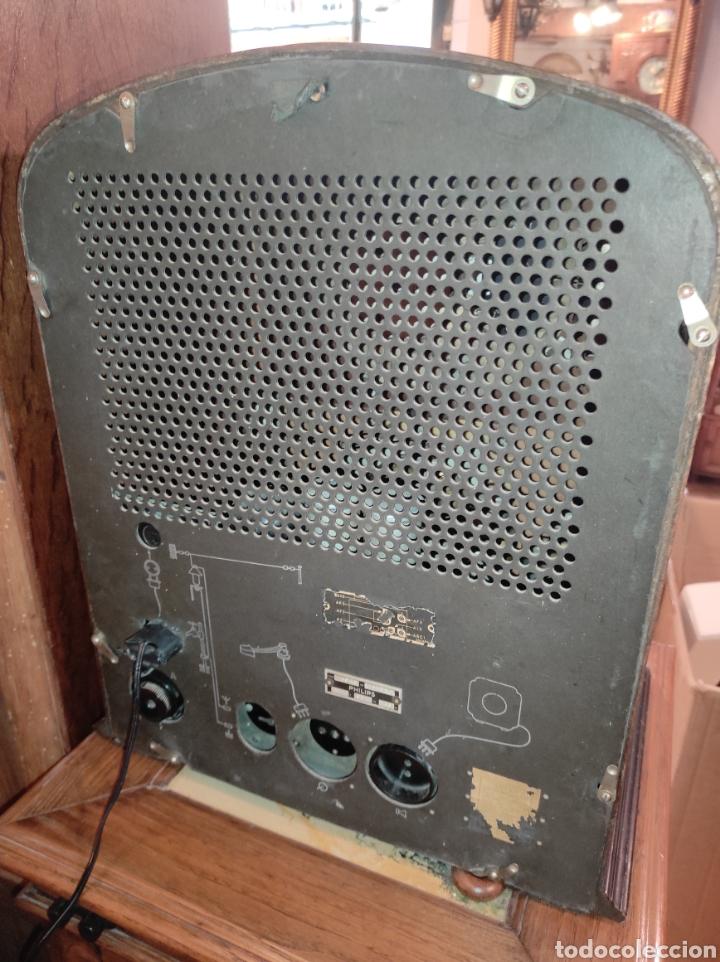 Radios de válvulas: Antigua Radio de Válvulas Philips 534 A - Tipo Capilla - Leer Descripción - - Foto 12 - 287838788