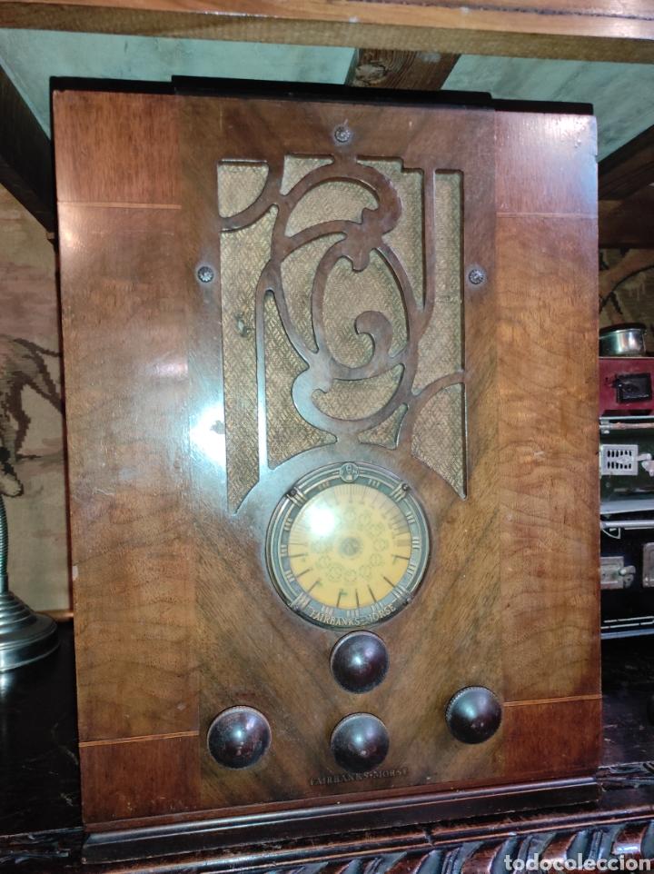 Radios de válvulas: Antigua Radio de Válvulas Fairbanks - Morse modelo 60 - Tipo Capilla - Leer Descripción - - Foto 2 - 287839848