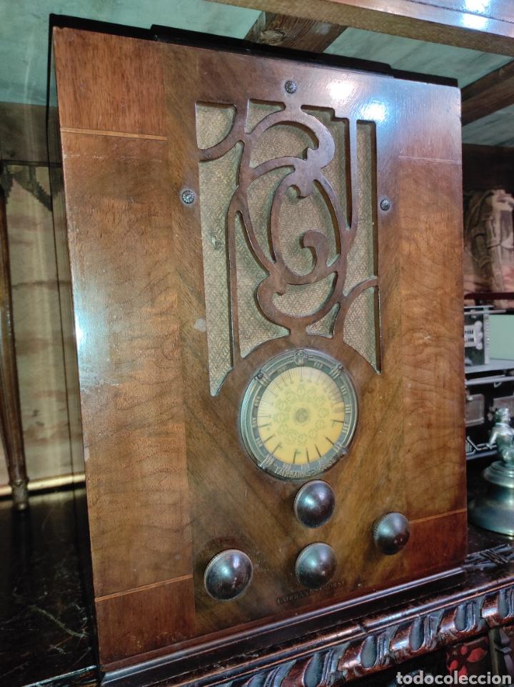 Radios de válvulas: Antigua Radio de Válvulas Fairbanks - Morse modelo 60 - Tipo Capilla - Leer Descripción - - Foto 3 - 287839848