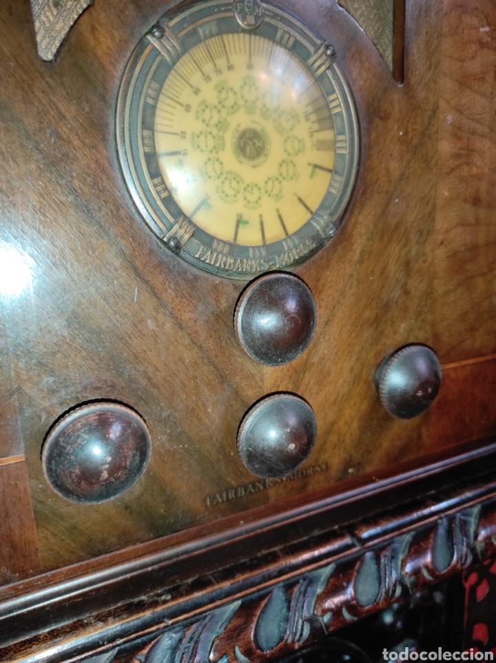 Radios de válvulas: Antigua Radio de Válvulas Fairbanks - Morse modelo 60 - Tipo Capilla - Leer Descripción - - Foto 6 - 287839848
