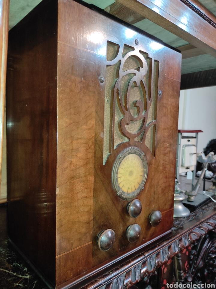 Radios de válvulas: Antigua Radio de Válvulas Fairbanks - Morse modelo 60 - Tipo Capilla - Leer Descripción - - Foto 8 - 287839848