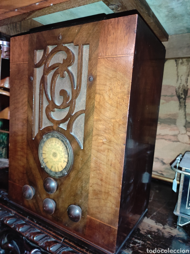 Radios de válvulas: Antigua Radio de Válvulas Fairbanks - Morse modelo 60 - Tipo Capilla - Leer Descripción - - Foto 9 - 287839848