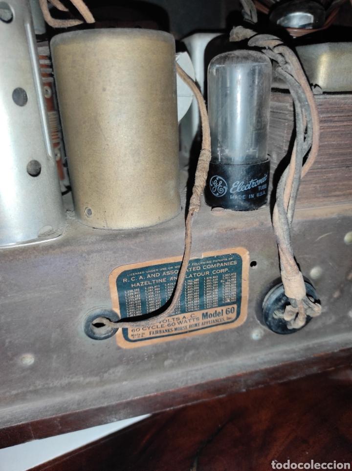 Radios de válvulas: Antigua Radio de Válvulas Fairbanks - Morse modelo 60 - Tipo Capilla - Leer Descripción - - Foto 14 - 287839848