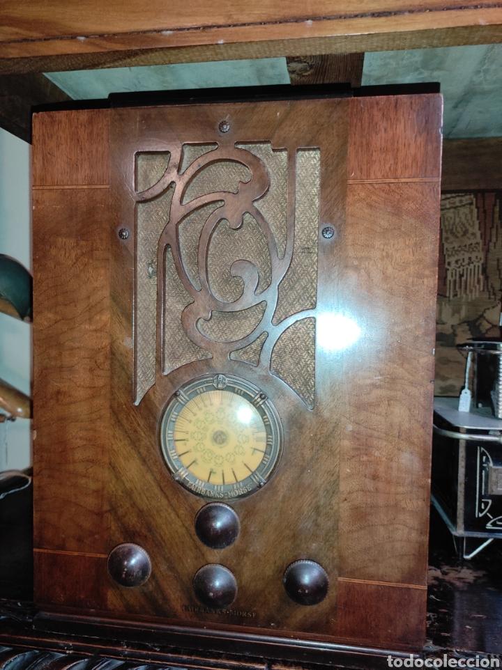 ANTIGUA RADIO DE VÁLVULAS FAIRBANKS - MORSE MODELO 60 - TIPO CAPILLA - LEER DESCRIPCIÓN - (Radios, Gramófonos, Grabadoras y Otros - Radios de Válvulas)