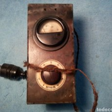 Radios de válvulas: ELEVADOR TRANSFORMADOR DE CORRIENTE PARA ANTIGUA RADIO DE VÁLVULAS A125 V.. Lote 287892998