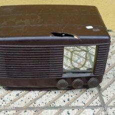 Radios de válvulas: ANTIGUA RADIO SONORA. Lote 289251338