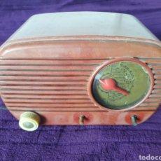 Radios de válvulas: ANTIGUA RADIO BAQUELITA DE VÁLVULAS. Lote 289448883