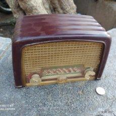Radios de válvulas: MINI RADIO ANTIGUA DE VÁLVULAS. Lote 289657123