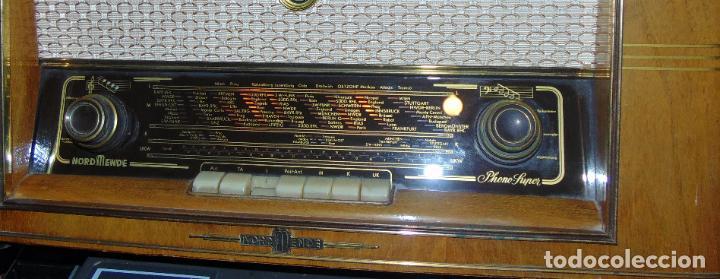 Radios de válvulas: GRAN RADIO NORDMENDE FHONO SUPER, VER FOTOS Y DESCRIPCIÓN - Foto 3 - 289725748