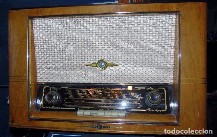 Radios de válvulas: GRAN RADIO NORDMENDE FHONO SUPER, VER FOTOS Y DESCRIPCIÓN - Foto 4 - 289725748