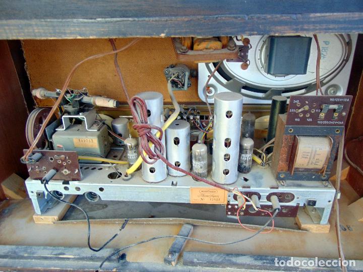 Radios de válvulas: GRAN RADIO NORDMENDE FHONO SUPER, VER FOTOS Y DESCRIPCIÓN - Foto 6 - 289725748