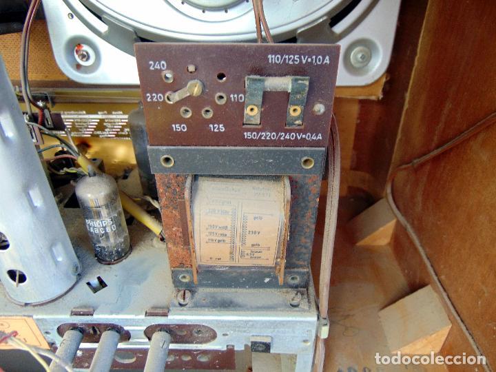 Radios de válvulas: GRAN RADIO NORDMENDE FHONO SUPER, VER FOTOS Y DESCRIPCIÓN - Foto 7 - 289725748