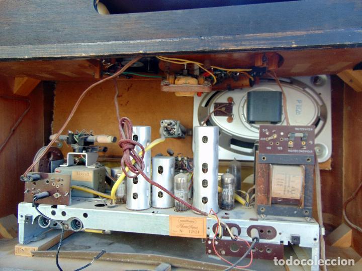 Radios de válvulas: GRAN RADIO NORDMENDE FHONO SUPER, VER FOTOS Y DESCRIPCIÓN - Foto 9 - 289725748