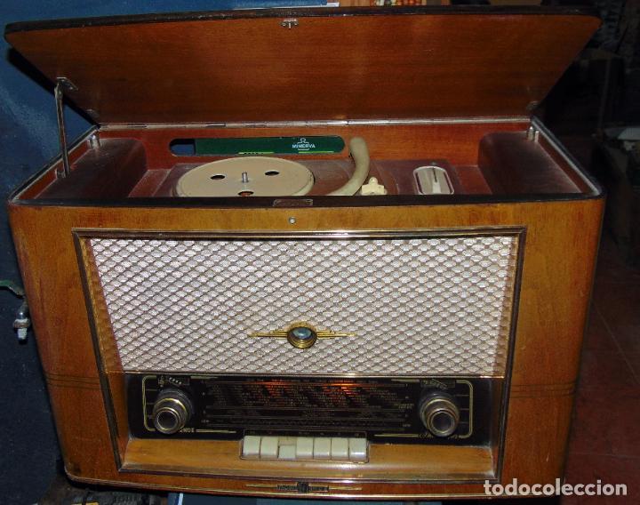 GRAN RADIO NORDMENDE FHONO SUPER, VER FOTOS Y DESCRIPCIÓN (Radios, Gramófonos, Grabadoras y Otros - Radios de Válvulas)