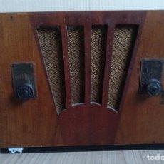 Radios de válvulas: ELECTRONICA, ANTIGUO RADIO A LAMPARAS, VALVULAS SIN MARCA - NO SE SI FUNCIONA. Lote 289741323
