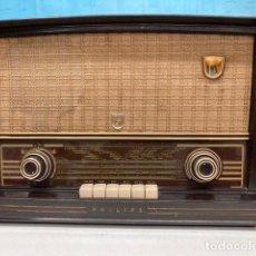 Radios de válvulas: MAGNÍFICO RADIO RECEPTOR PHILIPS. Lote 290694828